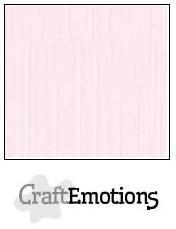 CraftEmotions linnenkarton babyroze 30,0 x 30,0cm