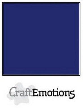 CraftEmotions karton gladkarton 10 vel saffierblauw 30,0 x 30,0 cm