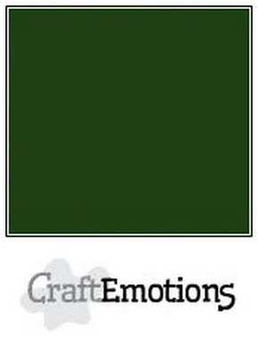 CraftEmotions karton gladkarton 10 vel smaragdgroen 30,0 x 30,0 cm
