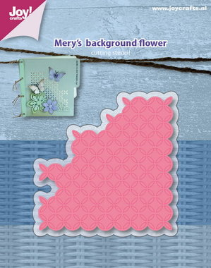Joy! stencil Mery's background flower 6002/1157