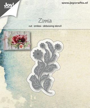 Joy! stencil bloem Zinnia 6002/1228