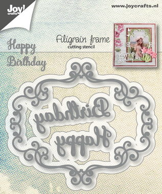 Joy! stencil filigraan frame 6002/1283