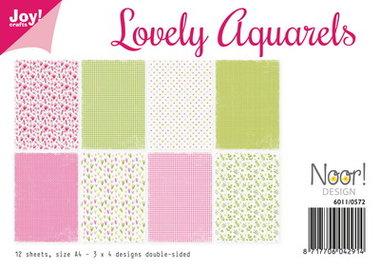 Joy! papierset Lovely aquarels 6011/0572
