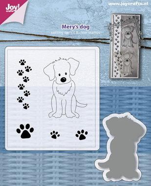 Joy! stempel met mal Mery's hond 6004/0034