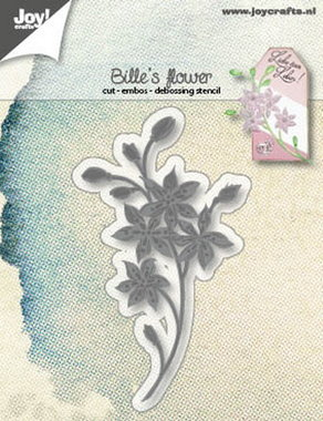 Joy! stencil Bille's bloem 6002/1249