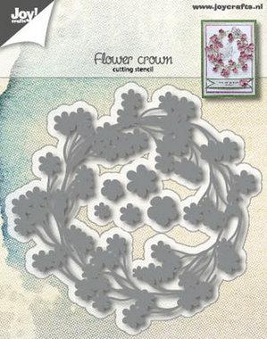 Joy! stencil flower crown 6002/1168