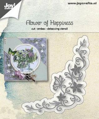 Joy! stencil flower of happiness 6002/1186