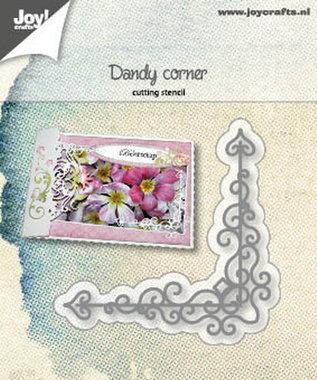 Joy! stencil dandy corner 6002/1226