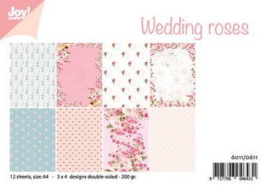 Joy! papierset Wedding roses 6011/0611