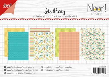 Joy! papierset Let's party 6011/0609