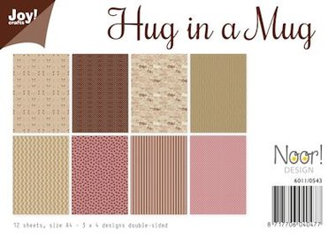 Joy! papierset design hug in a mug 6011/0543