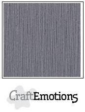 CraftEmotions linnenkarton graniet grijs 30,0x30,0cm