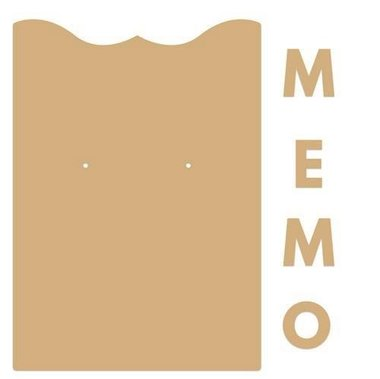 Dutch Doobadoo Dutch MDF Memo klembord