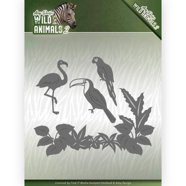 Amy Design die Wild animals 2 - tropical birds