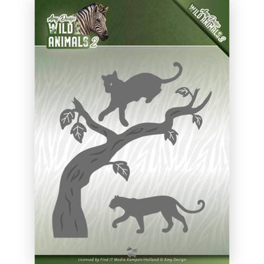 Amy Design die Wild animals 2 - panther