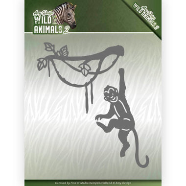 Amy Design die Wild animals 2 - spider monkey