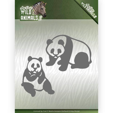 Amy Design die Wild animals 2 - panda bear