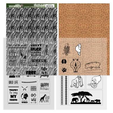 Amy Design sheets zebra - wild animals 2