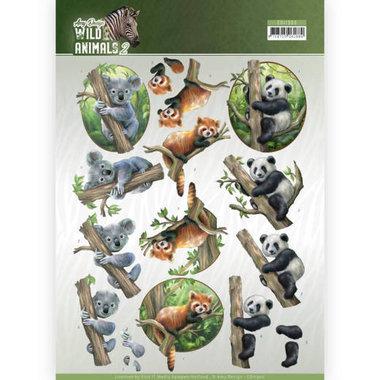 Amy Design knipvel Wild animals - Bears