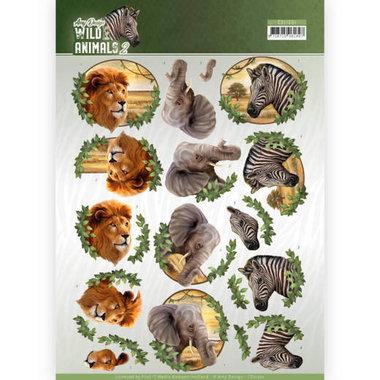 Amy Design knipvel Wild animals -  Africa