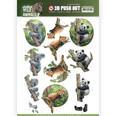 Amy Design push out Wild animals 2 - Bears