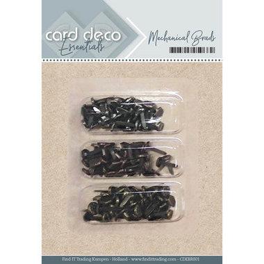Card Deco essentials - Mechanical brads