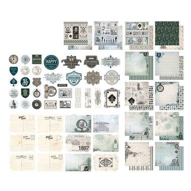 Couture Creations scrappapier Gentlemans Emporium Collection