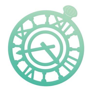 Couture Creations mini die Gentlemans emporium - Gentlemans timepiece