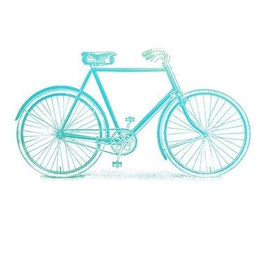 Couture Creations mini stamp Gentelmans emporium - Bicycle