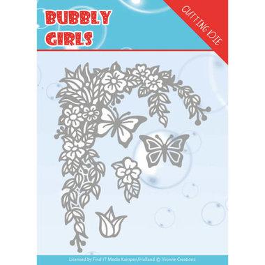 Yvonne Creations die Bubbly girls - Flower corner