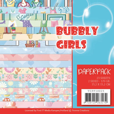 Yvonne Creations paperpack Bubbly girls