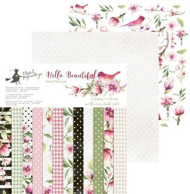 Piatek13 - Paper pad Hello Beautiful 30.5 x 30.5 cm