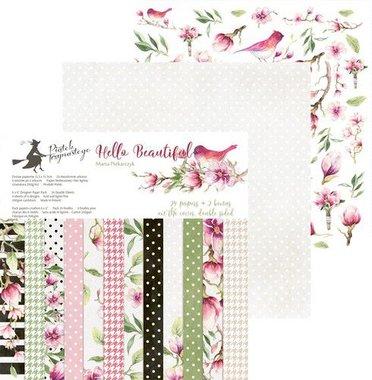 Piatek13 - Paper pad Hello Beautiful  15.3 x 15.3 cm