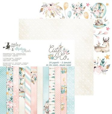 Piatek13 - Paper pad Cute & Co.  15.3 x 15.3 cm