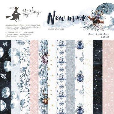 Piatek13 - Paper pad New moon 15.3 x 15.3 cm
