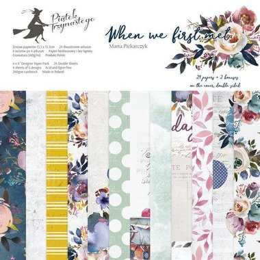 Piatek13 - Paper pad When we first met 15.3 x 15.3 cm