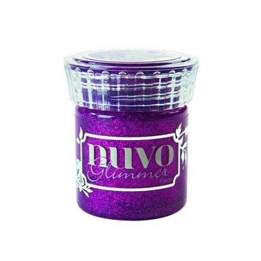 Nuvo glimmer paste - plum spinel
