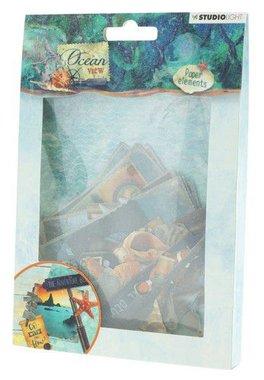 Studio Light Easy Die Cut Paper Set nr 649 Ocean View