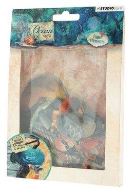 Studio Light Easy Die Cut Paper Set nr 650 Ocean View