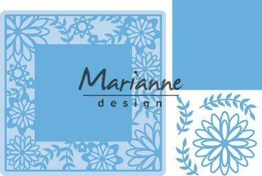 Marianne Design Creatable Flower Frame vierkant LR0577