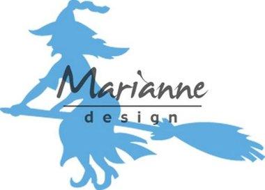 Marianne Design Creatable heks op bezem LR0561