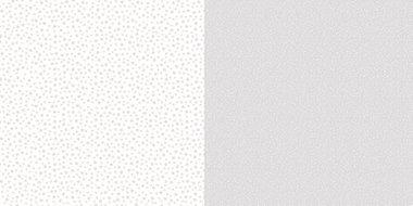 Dini Design Scrappapier Stippen bloemen - Zilvergrijs 30,5x30,5cm
