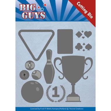 Dies - Yvonne Creations - Big Guys - Play to Win