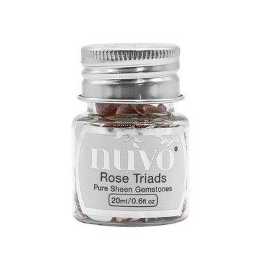 Nuvo Gemstones (ass. sizes) - rose triad