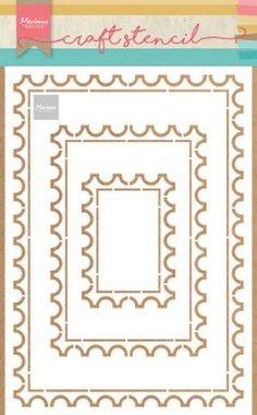 Marianne Design Stencil Postkaart PS8034
