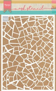 Marianne Design Stencil Gebroken tegels PS8036