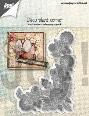 Joy! stencil Deco plantenhoek 6002/1288