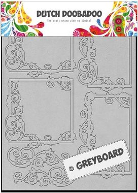 Dutch Doobadoo Dutch Greyboard Frames vierkant A5