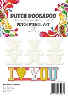 Dutch Doobadoo Dutch Stencil Art Shapes