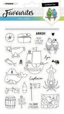 Studio Light Clearstempel A5 Favourites nr 384